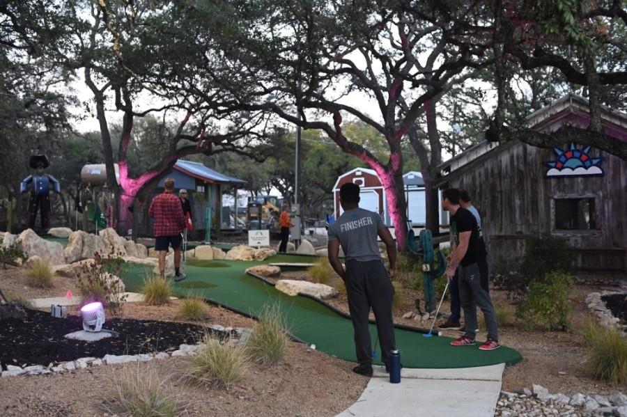 Dreamland includes two 18-hole mini golf courses. (Courtesy Matt Lankes)
