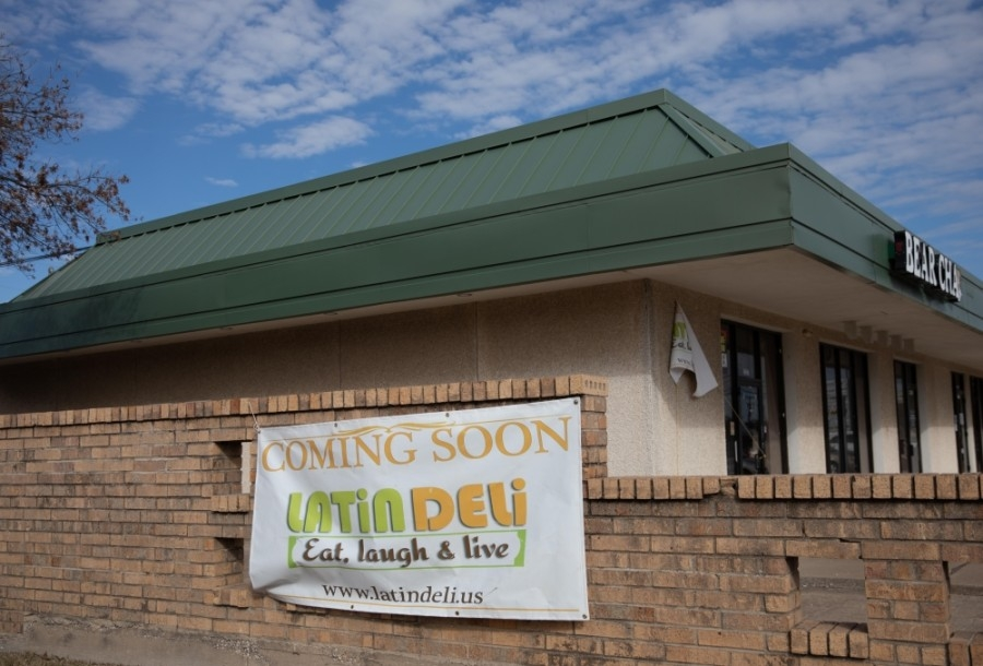 Latin Deli expects to open in March at 2237 W. 15th St., Plano. (Liesbeth Powers/Community Impact Newspaper)