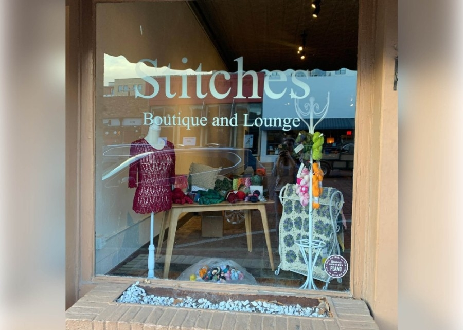 The yarn boutique and lounge, located at 1029 E. 15th St., Plano, offers open knit and class time in its crafting lounge space. (Courtesy Stitches)