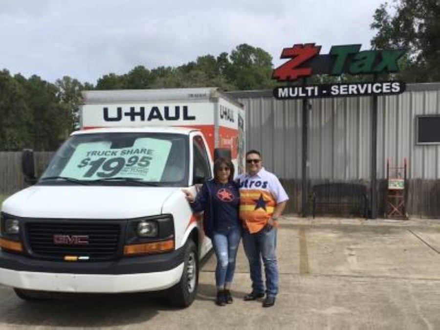 Owned by Ed Tijerina, the business specializes in income tax and notary services and is now also offering U-Haul truck, trailer and towing equipment rentals in addition to moving supplies and in-store pickup for boxes. (Courtesy Z Tax & Multi Services)