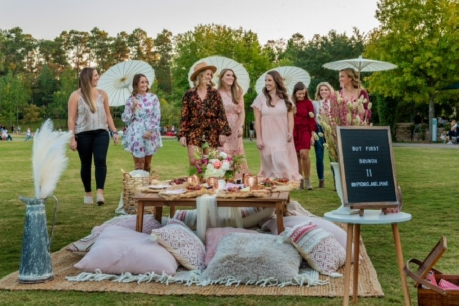 Picnic + Pine offers picnic planning and hosting for public or private events in The Woodlands area. (Courtesy Kathleen O. Ryan Fine Art Photography)