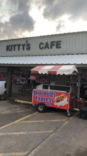 Hot Dogs Express Magnolia is a food stall that operates out of Kitty's Cafe daily after 3 p.m. (Courtesy Hot Dogs Express Magnolia)