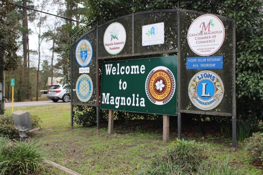 In a post on the Magnolia Police Department's Facebook page, the city said crews are working to restore service as soon as possible. (Kara McIntyre/Community Impact Newspaper)