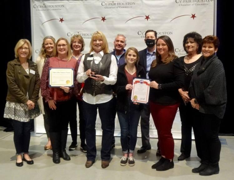 Cy-Hope was named Nonprofit of the Year. (Danica Lloyd/Community Impact Newspaper)