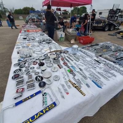 The Traders Village Auto Swap meet will take place March 13-14 this year, featuring hundreds of vendors offering car parts and accessories. (Courtesy Traders Village)