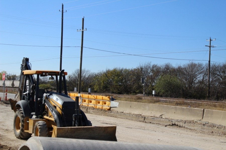 Texas Department of Transportation construction on US 377 began five years ago. The goal of the project is to reconstruct and widen the current lanes. (Sandra Sadek/Community Impact Newspaper)