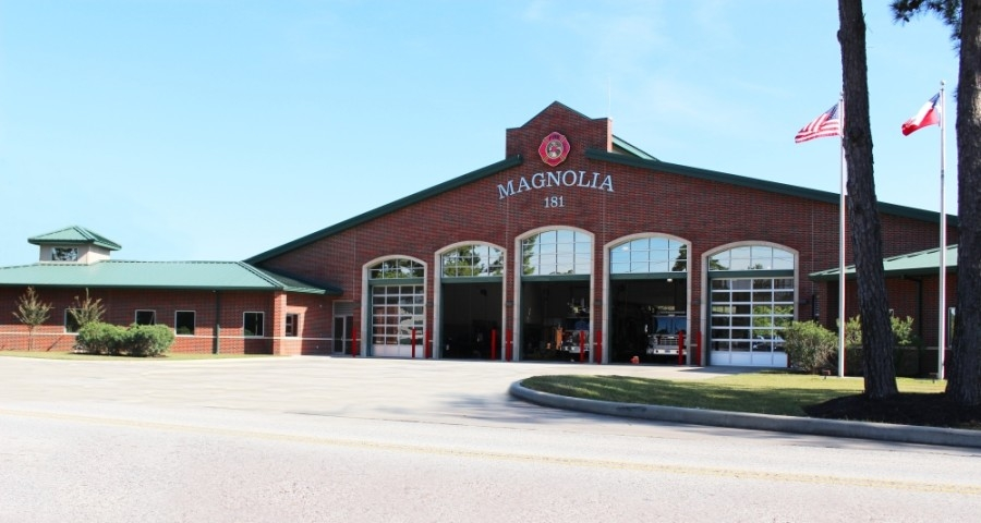 The March 18 meeting will be held at noon at Magnolia Volunteer Fire Department Station No. 181, located at 18215 Buddy Riley Blvd., Magnolia. (Kara McIntyre/Community Impact Newspaper)