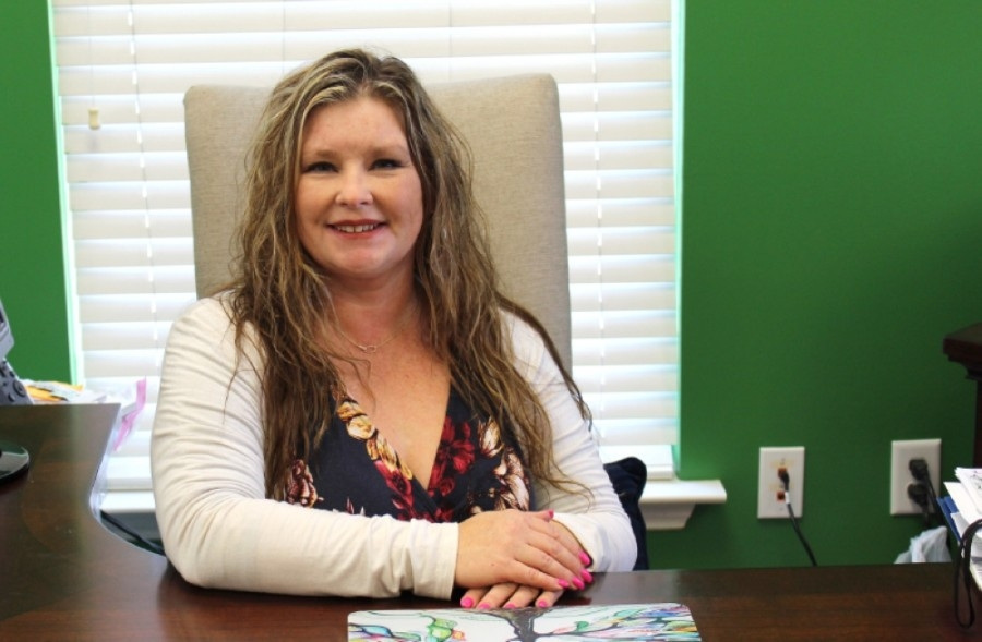 Dana Judd, who holds degrees in psychology and special education, opened Inspire Academy in 2018. (Photos by Kira Lovell/Community Impact Newspaper)