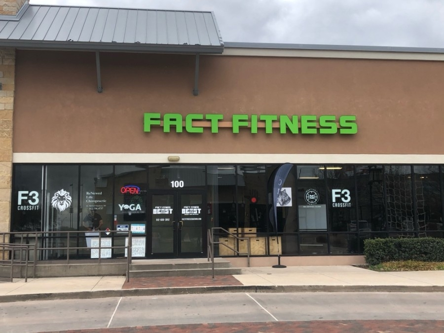 Ixchel Yoga classes are located inside Fact Fitness. (Courtesy Ixchel Yoga)