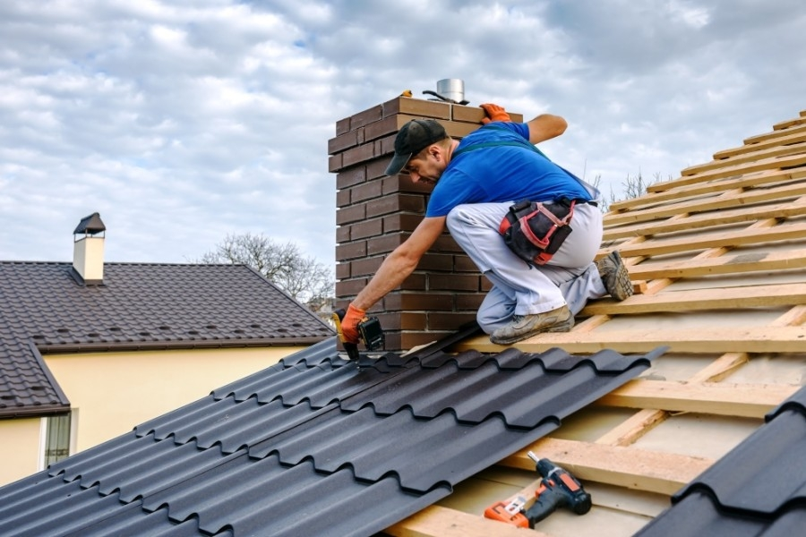 Peak Roofing & Construction offers commercial and residential roofing services, emergency roof repairs, gutter replacement and cleaning, roof leak repairs, and other housing infrastructure-related services. (Courtesy Adobe Stock)