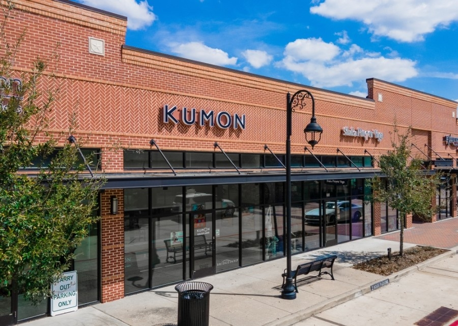 A new location of Kumon Math and Reading Program is now open in the Bridgeland area at 10611 Fry Road, Ste. B2-200, Cypress, within the Lakeland Village Center. (Courtesy Howard Hughes Corporation)