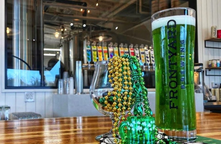 Spicewood's Frontyard Brewing will host St. Patrick's Day celebrations March 17. (Courtesy Frontyard Brewing)