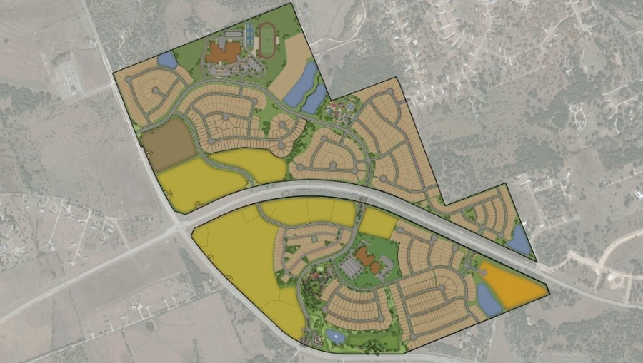 Parmer Ranch, a new residential community, is set to open this summer. (Courtesy Dala Communications).