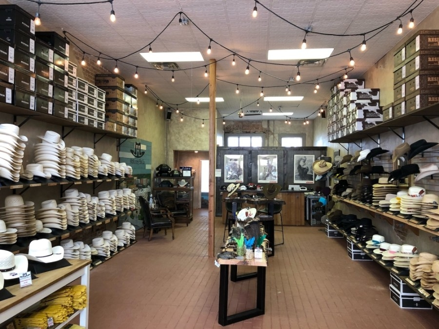 McKinney Hat Company is locally owned by McKinney residents Jennifer and Mike Buchanan. (Courtesy McKinney Hat Company)