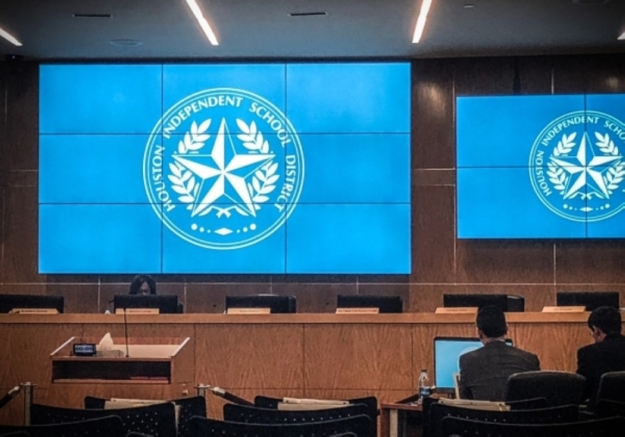 The Houston ISD board of trustees was handed a victory March 19 in the Texas Supreme Court over a potential state-mandated overhaul, but the legal fight is not over. (Community Impact Newspaper file photo)
