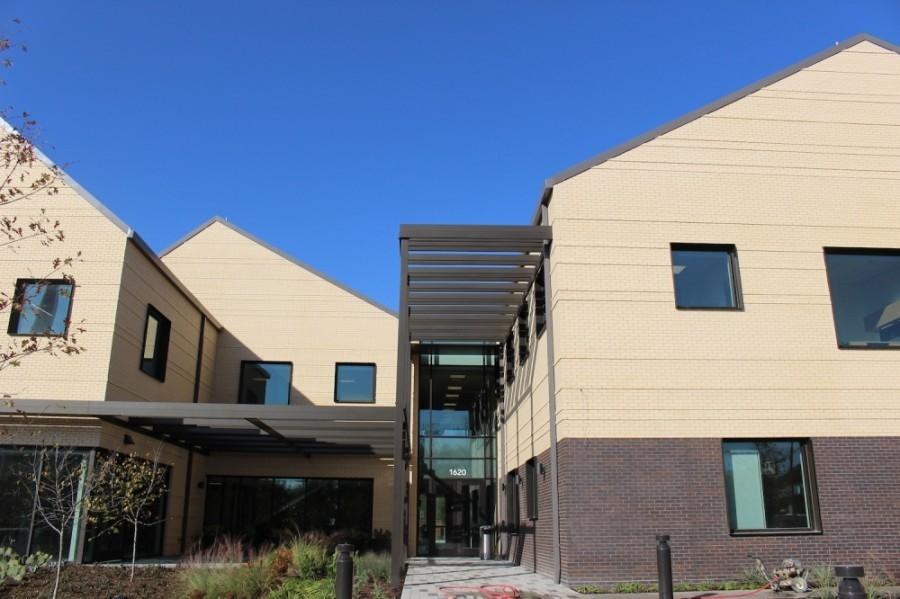 The Family Health Center on Virginia has completed construction. (Miranda Jaimes/Community Impact Newspaper)