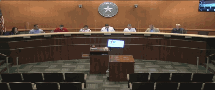 The packet briefing March 23 detailed items on the agenda for the March 25 Round Rock City Council meeting. (Screenshot courtesy city of Round Rock)