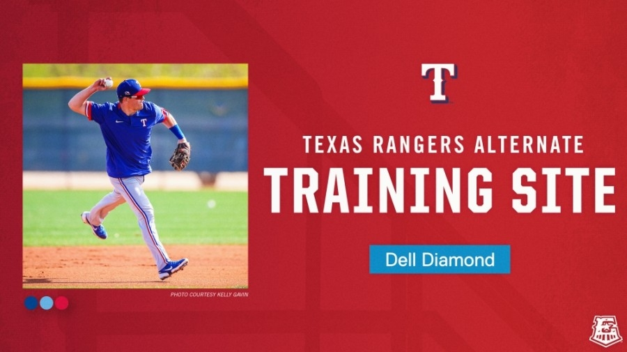 In addition to operating as a COVID-19 vaccination hub, Dell Diamond will soon serve as the Texas Rangers' alternate training site. (Courtesy Round Rock Express)