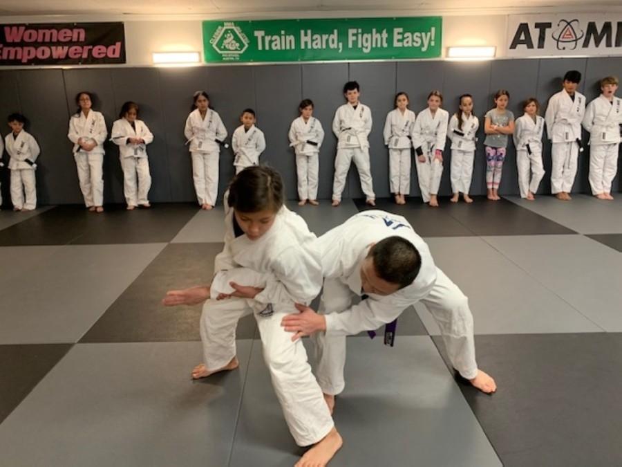 Atomic Jiu-Jitsu claims to be the only gym in the world to be both a Gracie Jiu-Jitsu-certified training center and affiliated with world champion Cleber Luciano. (Courtesy Atomic Jiu-Jitsu)