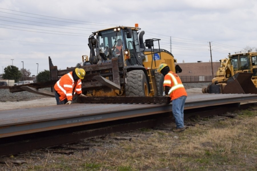 Loram Technologies, formally GREX, will start construction of a rail research and development center in late 2021. (Courtesy Dallas Area Rapid Transit)