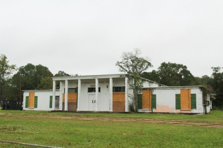 Plans for the Conroe Normal and Industrial College include the addition of a football field and community garden. (Eva Vigh/Community Impact Newspaper)