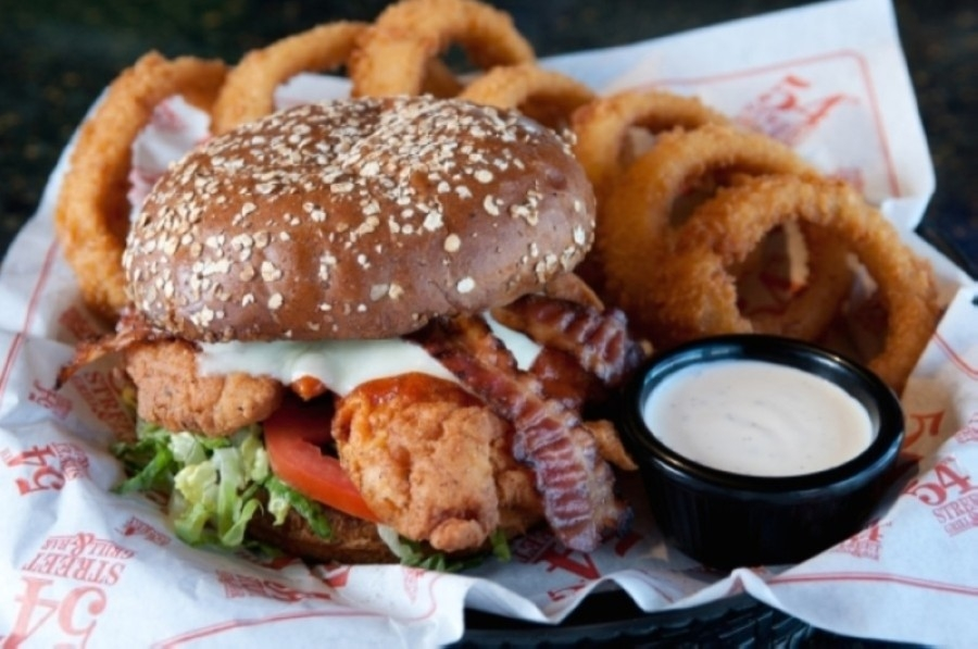 54th Street Grill's menu features more than 150 items, including craft burgers, steaks, sandwiches and Southern comfort food dishes, including fried steak, ribs and jambalaya. (Courtesy 54th Street Grill)