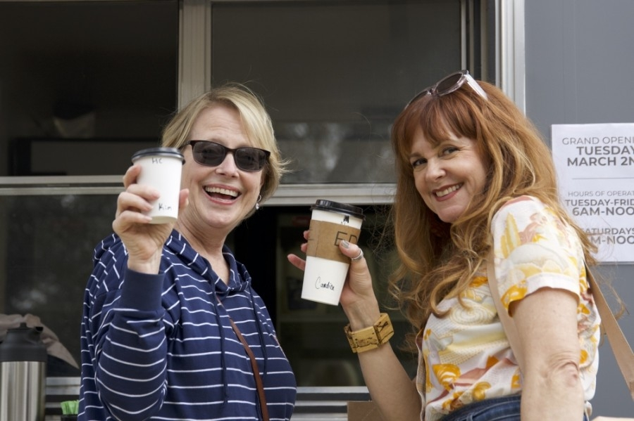 The new EDG Coffee trailer will hold a ribbon-cutting with the Dripping Springs Chamber of Commerce on March 30. (Courtesy EDG Coffee)