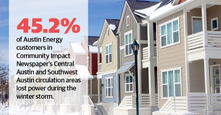 A winter storm that hit Texas in mid-February knocked out power for millions. More than a month later, some residents are still feeling the effects. (Jack Flagler/Community Impact Newspaper)