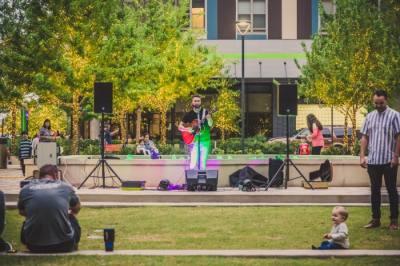 Live music returns to CityLine Plaza in Richardson on April 2. (Courtesy CityLine)