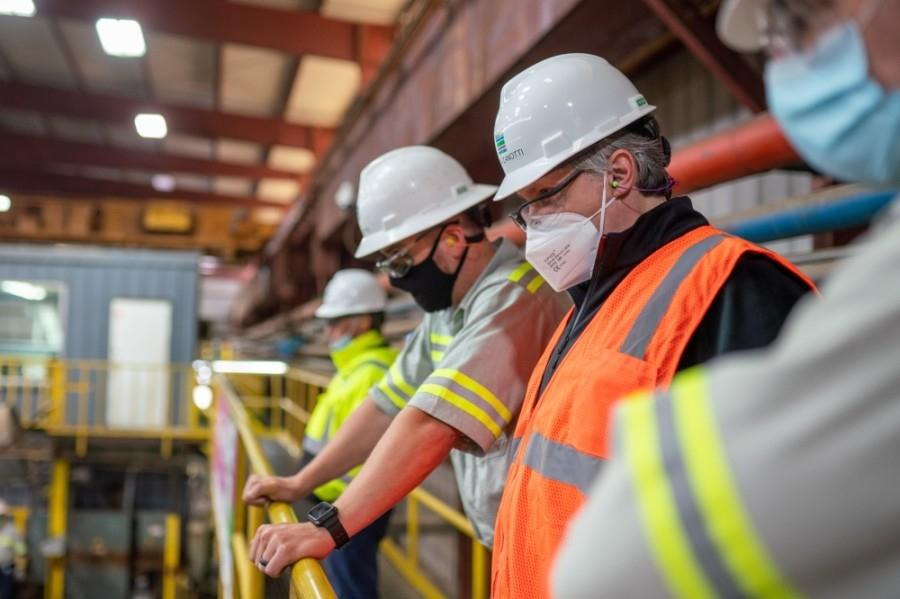 Tenaris is bringing 140 employees onboard to its Conroe plant. (Courtesy Tenaris)