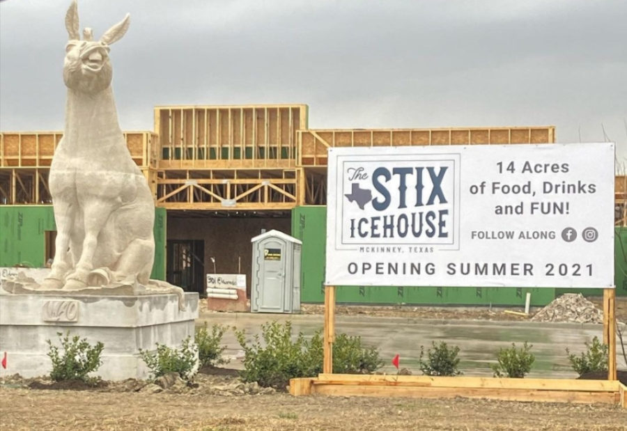 The new Stix Icehouse will offer beer, comfort food and live music on its 14 acres. (Courtesy The Stix Icehouse)