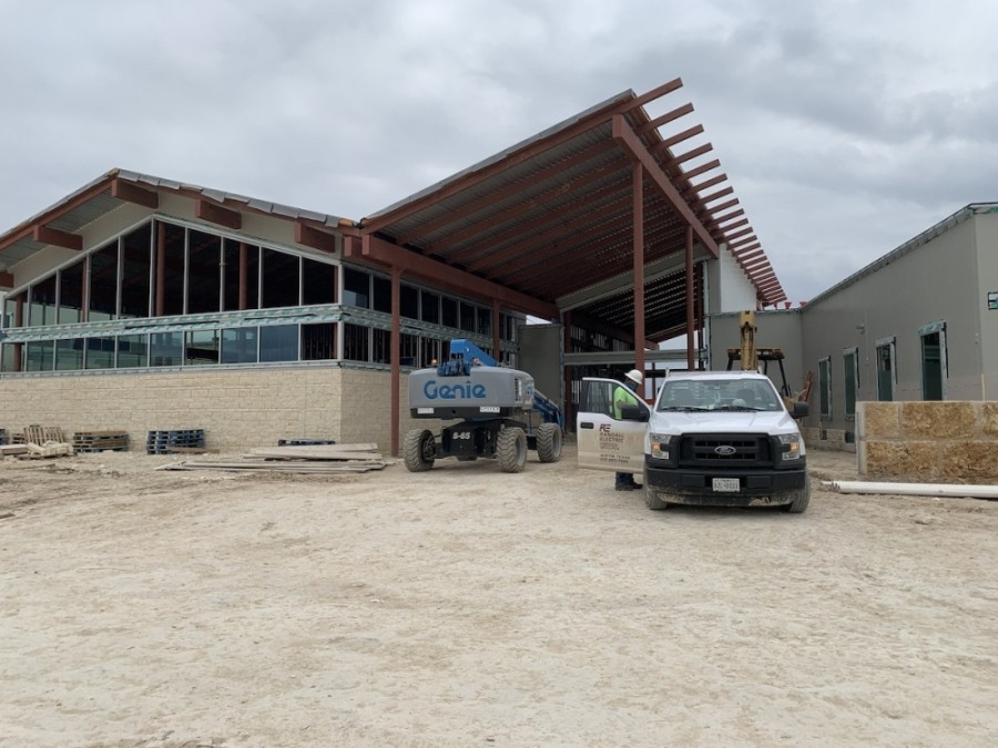 Photo of the entrance to Cypress Springs Elementary