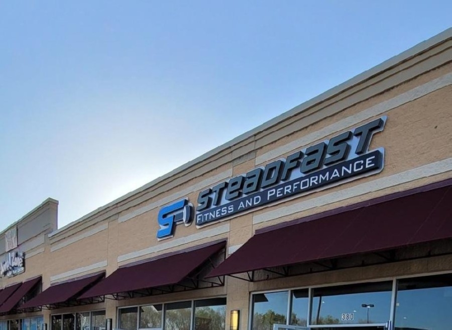 Steadfast Fitness and Performance sign