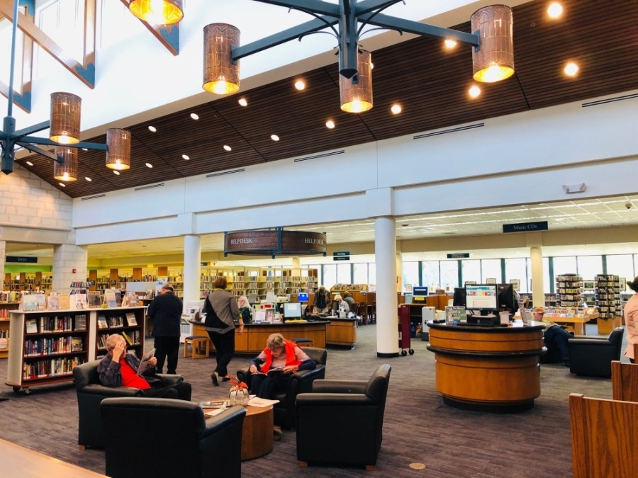 The New Braunfels Public Library will extend loan periods on some materials. (Ian Pribanic/Community Impact Newspaper)