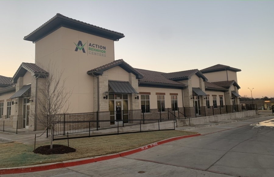 The front of the Action Behavior Centers facility