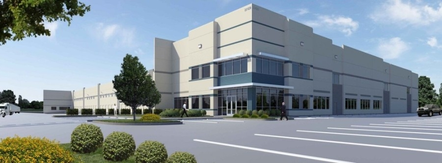 Ground broke March 25 on a new 115,000-square-foot Class A distribution center near the intersection of Beltway 8 and Hwy. 290 in the northwest Houston area. (Courtesy Transwestern)