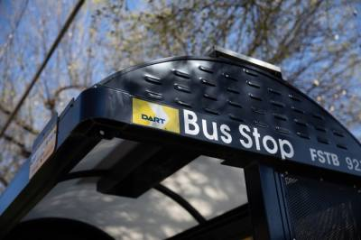 Community meetings provide a space for feedback on the DART bus network redesign, which includes changes to GoLink shuttle service in Plano and Richardson. (Liesbeth Powers/Community Impact Newspaper)