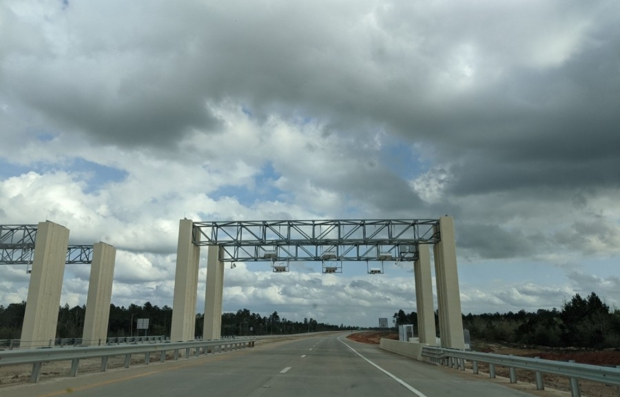Segment 1B completes the first section of the Hwy. 249 extension project. (Anna Lotz/Community Impact Newspaper)