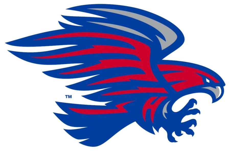 The Hawks mascot was selected by Hays CISD students earlier this year to replace the Rebels mascot. (Courtesy Hays CISD)