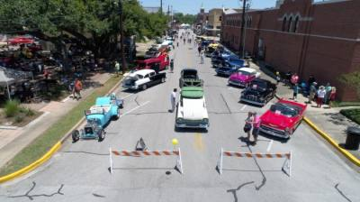The Art Walk & Motor Madness festival, held April 10 in downtown Richmond, is just one of many events in the Sugar Land and Missouri City area this month. (Courtesy city of Richmond)