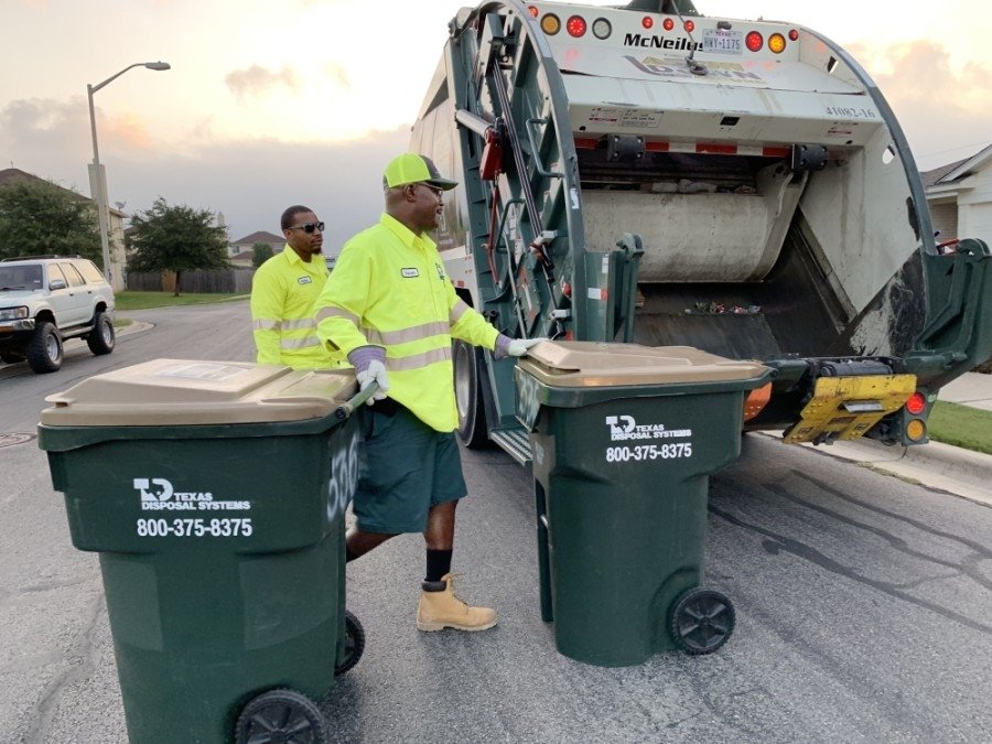 The city of Buda has begun examining options for trash and recycling services. (Courtesy Texas Disposal Systems)