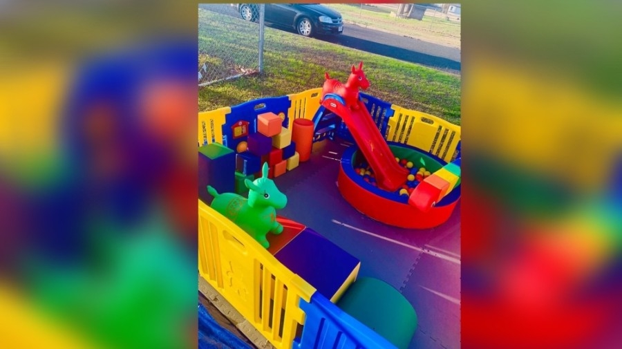 Tiny Texans Soft Play, a children's mobile rentals play zone rental service, opened for business March 12. (Courtesy Tiny Texans Soft Play)
