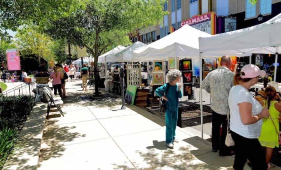 May 08: See fine arts at Market Street. (Courtesy Market Street)