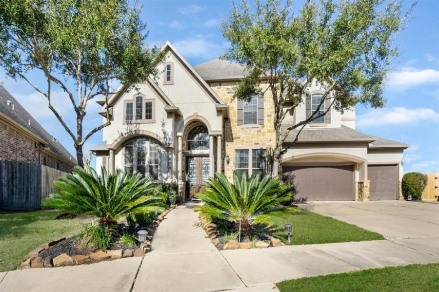 2502 Sentry Oak Way, a 4,345-square-foot house in the Telfair neighborhood, sold for between $717,001-$827,000 on March 5. (Courtesy Houston Association of Realtors)