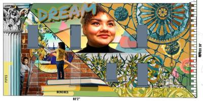 The Georgetown Arts and Cultural Board has scheduled two new murals to be installed this spring. (Courtesy The Georgetown Arts & Cultural Board)