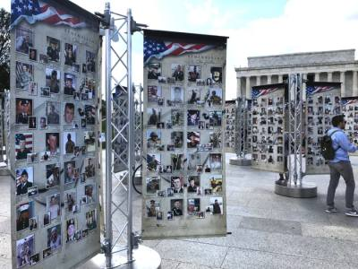The national traveling memorial, Remembering Our Fallen: Post 9/11 War on Terror Tribute, will be at Wolf Ranch Town Center. (Courtesy Wolf Ranch Town Center)