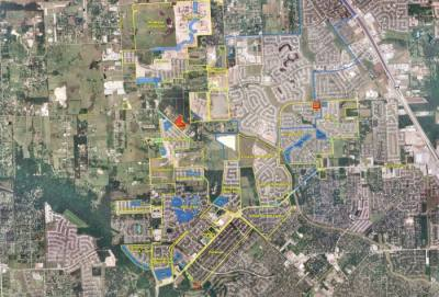 Northwest Harris County Municipal Utility District No. 5 covers 22 communities and roughly 2,800 acres around the border of Cy-Fair and Tomball. (Courtesy Northwest Harris County MUD No. 5)