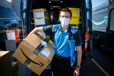The program, which began this week in San Marcos, gives Amazon and Whole Foods employees and contractors direct access to COVID-19 vaccinations. (Courtesy Amazon)