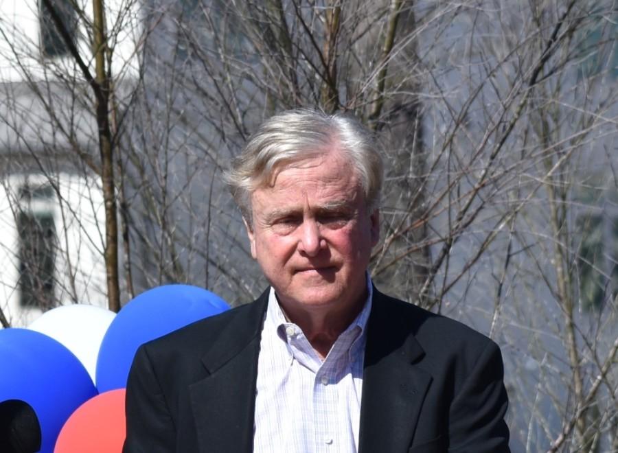 Robert Heineman retired after 48 years working in The Woodlands planning and development. (Vanessa Holt/Community Impact Newspaper)