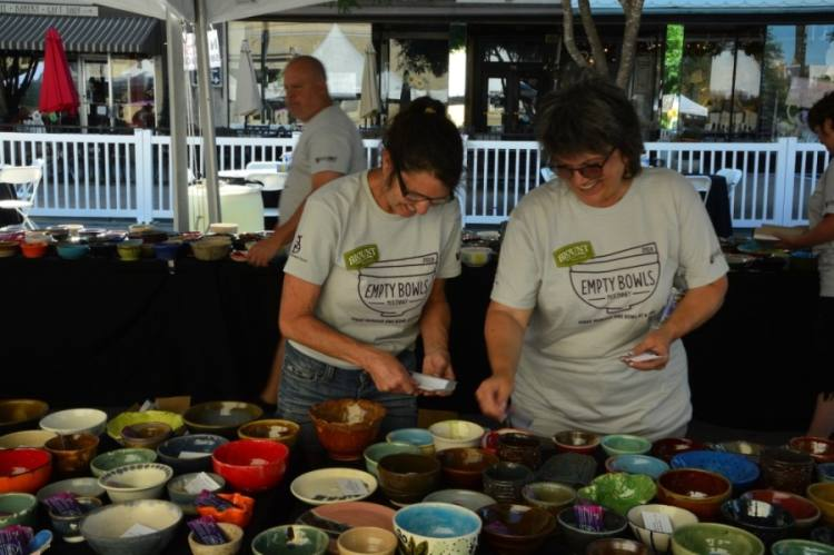 Empty Bowls has connected people and artists over the past nine years. (Courtesy Empty Bowls McKinney)